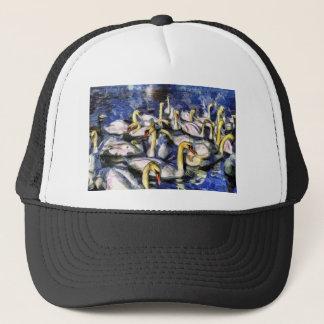 Swans Vincent Van Gogh Trucker Hat