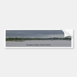 Swansboro Harbor Merchandise Car Bumper Sticker