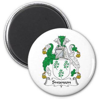 Swanson Family Crest Magnet