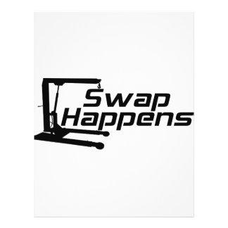 Swap Happens Flyer Design