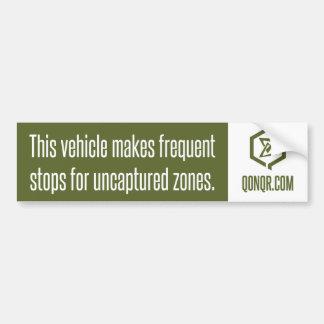Swarm Frequent Stops Bumper Sticker