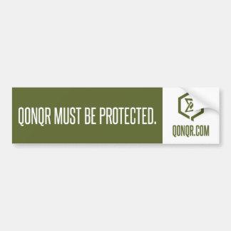 Swarm Must Protect Bumper Sticker