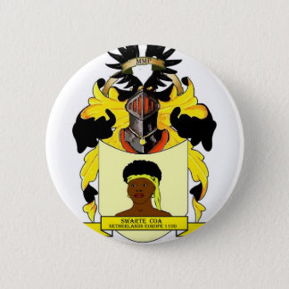 Swarte Coats of Arms Netherlands Europe 6 Cm Round Badge