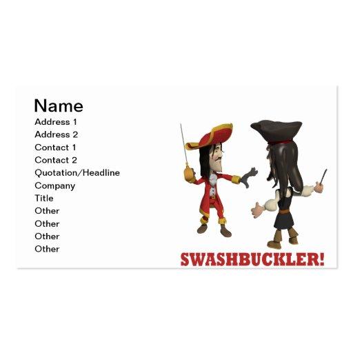 Swash Buckler Business Cards