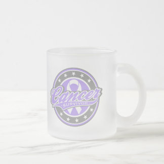 Swash Logo Cancer Survivor Mugs