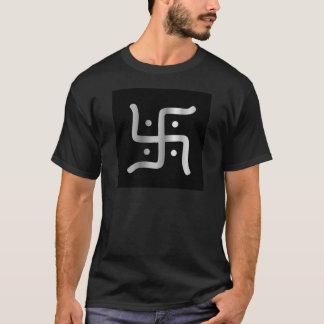 Swastika Symbol of Jainism religion T-Shirt