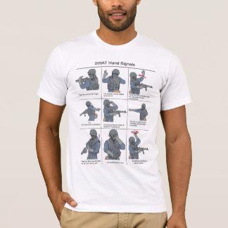 SWAT Hand Signals T-Shirt