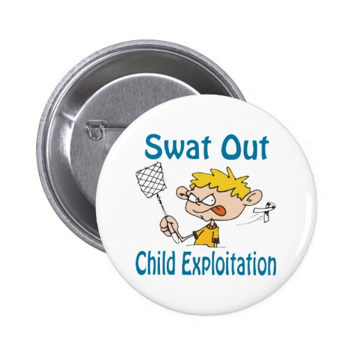 Swat Out Child-Exploitation Button