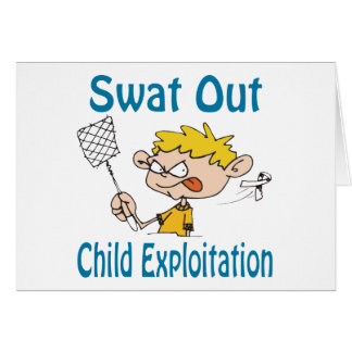 Swat Out Child-Exploitation Card