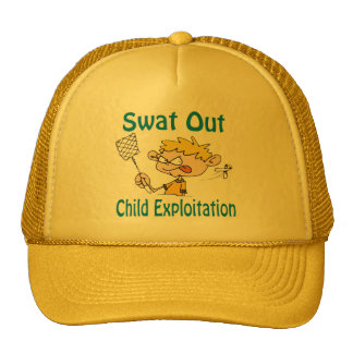 Swat Out Child-Exploitation Hat