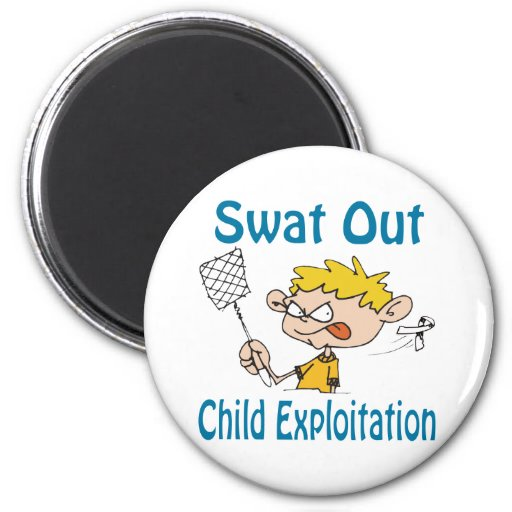 Swat Out Child-Exploitation Magnet