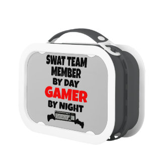 SWAT Team Member by Day Gamer by Night Lunchboxes