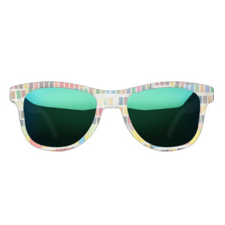 swatches stripes mini collage sunglasses