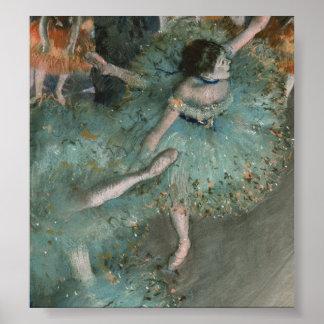Swaying Dancer - Edgar Degas Poster