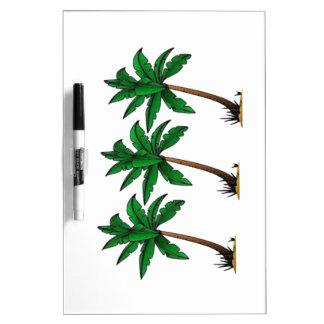 Swaying Palms Dry-Erase Board