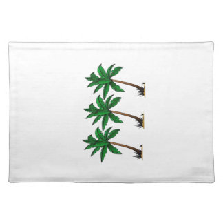 Swaying Palms Placemat
