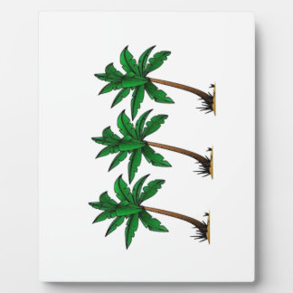 Swaying Palms Plaque