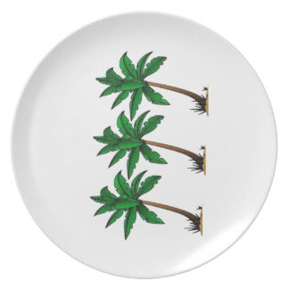 Swaying Palms Plate
