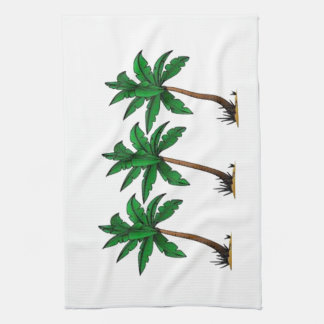 Swaying Palms Tea Towel