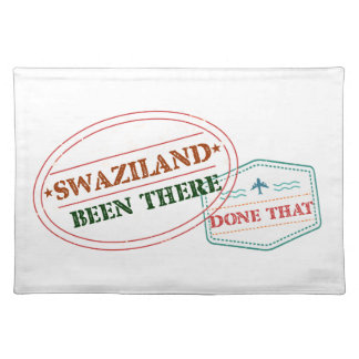Swaziland Been There Done That Placemat