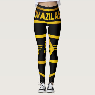 Swaziland Emblem Leggings