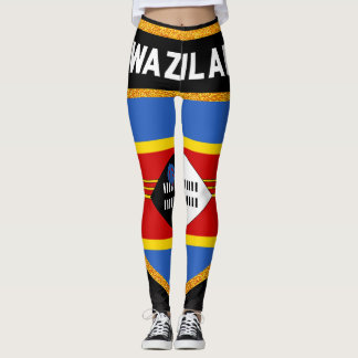 Swaziland Flag Leggings