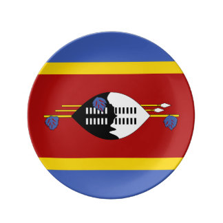 Swaziland Flag Plate
