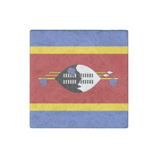 Swaziland Flag Stone Magnet