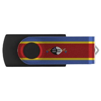 Swaziland Flag USB Flash Drive