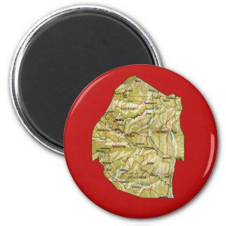 Swaziland Map Magnet