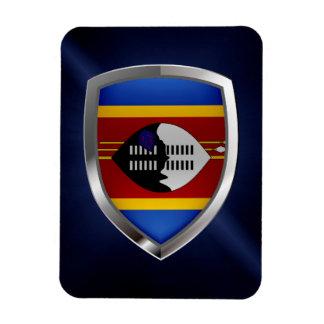 Swaziland Metallic Emblem Magnet