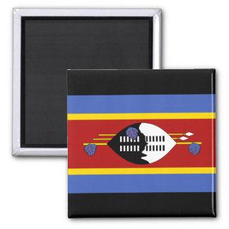 Swaziland National World Flag Magnet