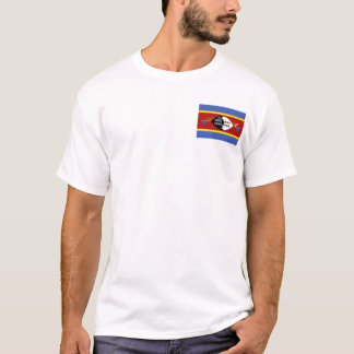 Swaziland National World Flag T-Shirt