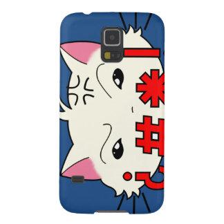 Swear Cat for Samsung Galaxy S5 Case