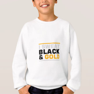 Sweat Black & Gold Sweatshirt