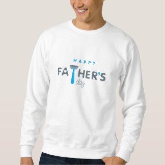 Sweat Homme White BASIC Father's Day Sweatshirt
