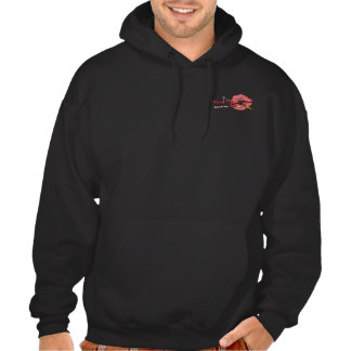 Sweat Hood - 2 Logos - Black Sweatshirt