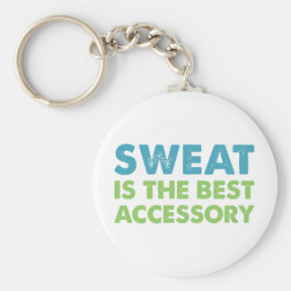 Sweat is the Best Accessory Key Ring