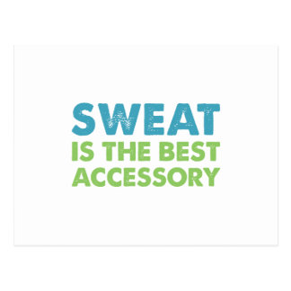 Sweat is the Best Accessory Postcard