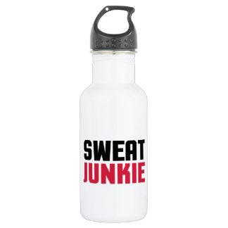 Sweat Junkie Gym Quote 532 Ml Water Bottle