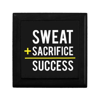 Sweat Plus Sacrifice Equals Success - Inspiration Gift Box