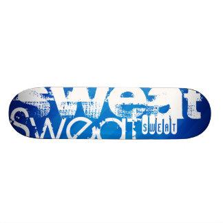 Sweat; Royal Blue Stripes Skate Boards