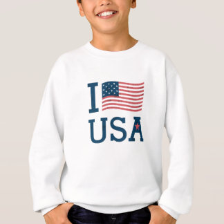 Sweat Shirt Boy the USA
