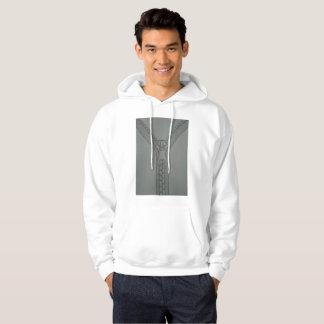 Sweat to zipper hoodie