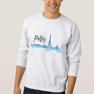 Sweat White Man BASIC Paris Sweatshirt
