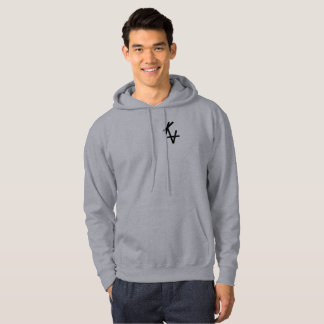 Sweat with hood dark logo KA gray Hoodie