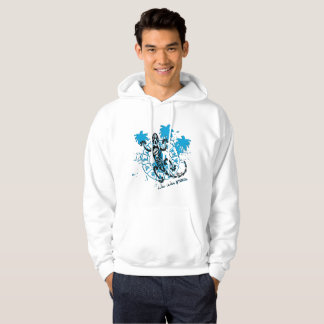 Sweat with hood man horoscope lizard hoodie