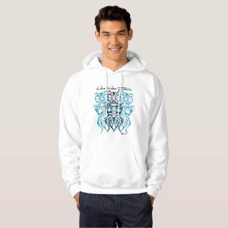 Sweat with hood man tiki hoodie