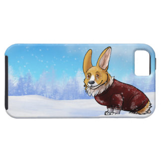 sweater corgi 2 tough iPhone 5 case