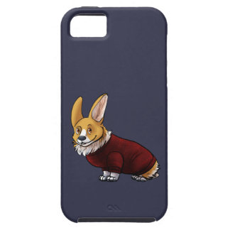 sweater corgi iPhone 5 cases